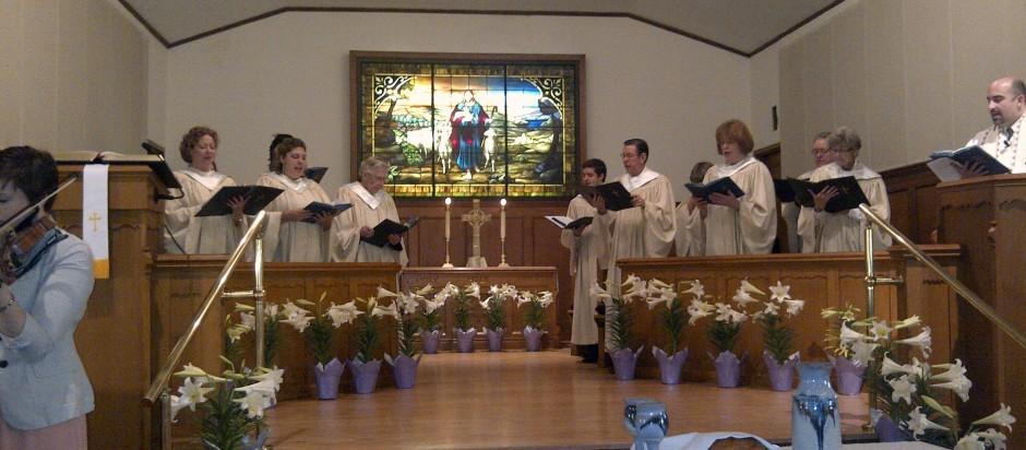 SAPC Choir at Easter