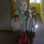Easter bunny John Isaiah